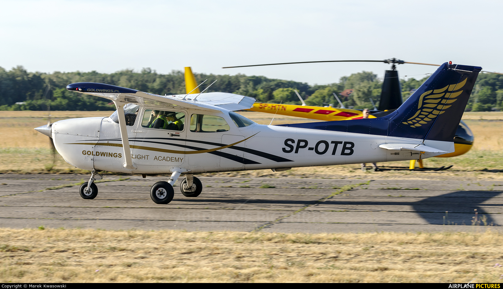 Private SP-OTB aircraft at Warsaw - Babice
