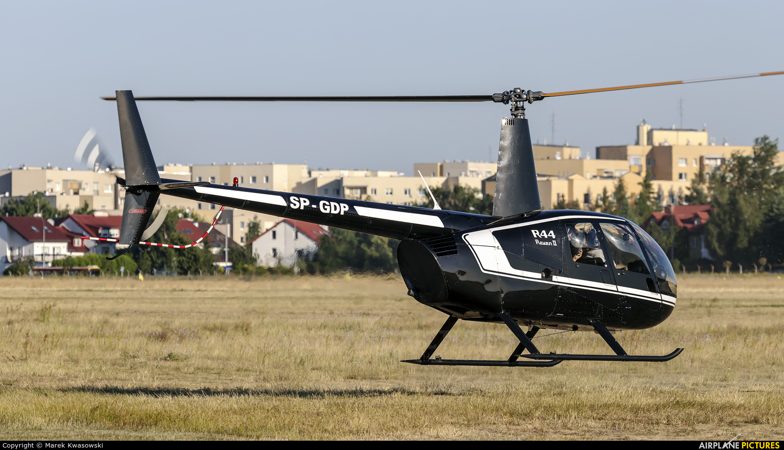 Private SP-GDP aircraft at Warsaw - Babice