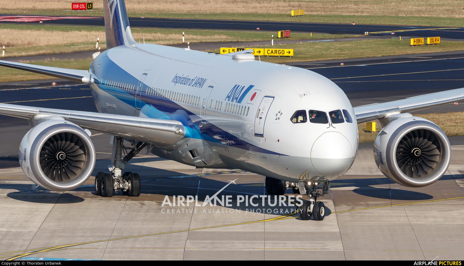 ANA - All Nippon Airways JA891A aircraft at Düsseldorf