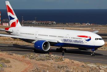 G-VIIT - British Airways Boeing 777-200ER