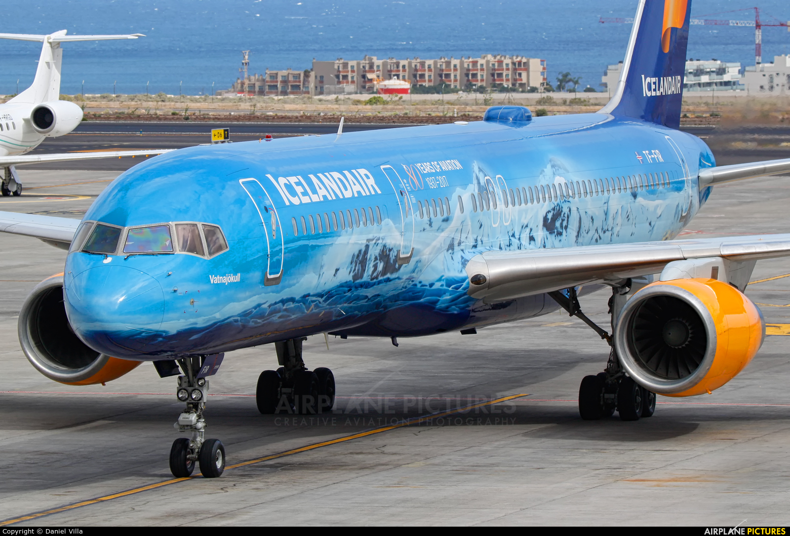 Icelandair TF-FIR aircraft at Tenerife Sur - Reina Sofia