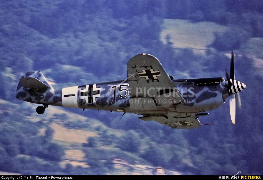 Private D-FEHD aircraft at Ambri