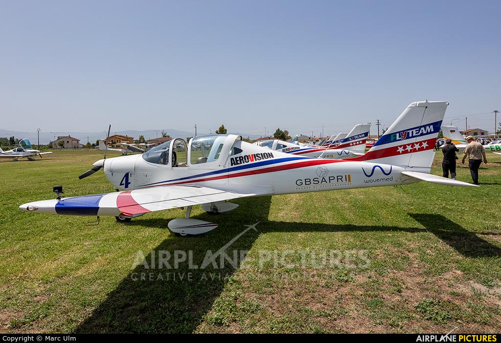 Private I-9734 aircraft at Sibari Fly