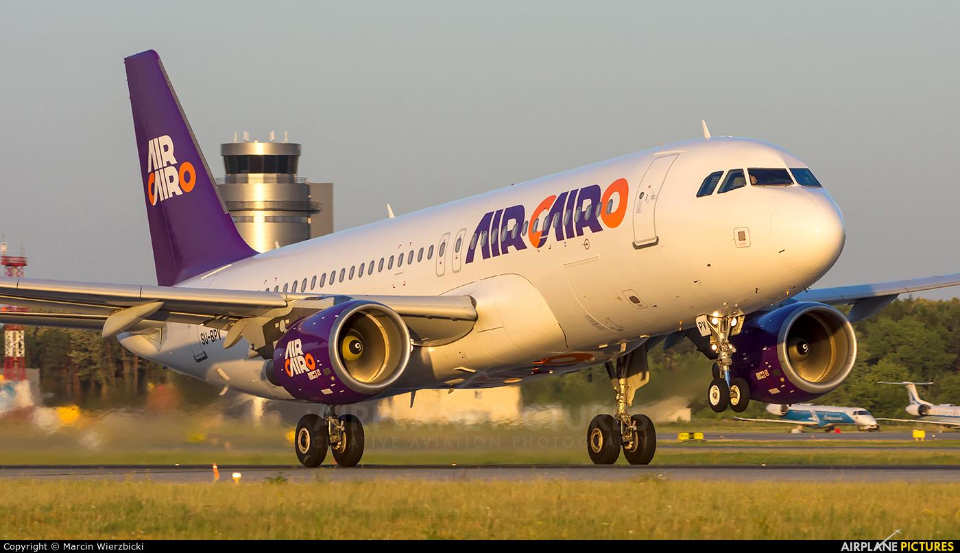 Air Cairo SU-BPV aircraft at Katowice - Pyrzowice