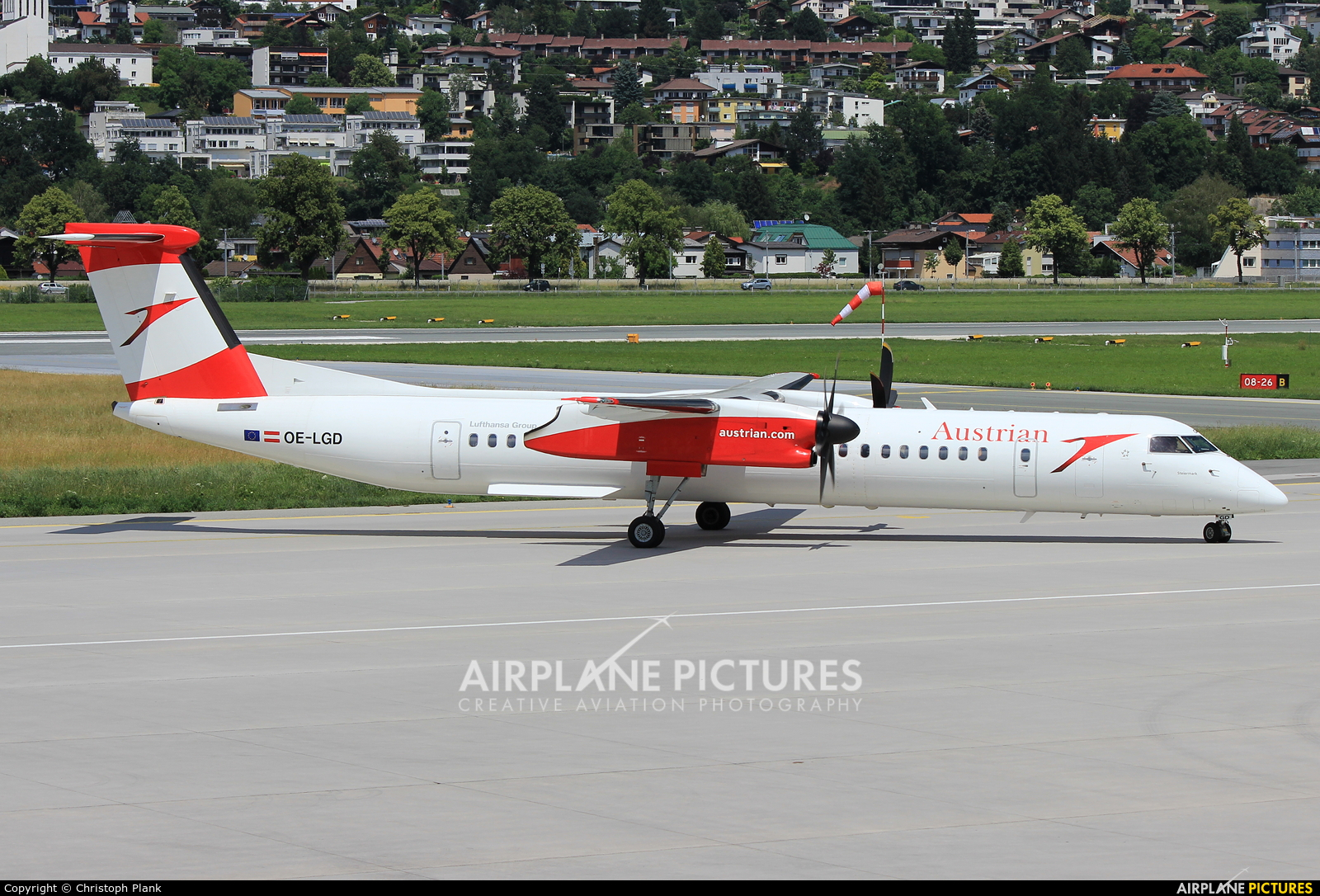 Austrian Airlines/Arrows/Tyrolean OE-LGD aircraft at Innsbruck