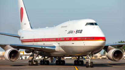 20-1101 - Japan - Air Self Defence Force Boeing 747-400