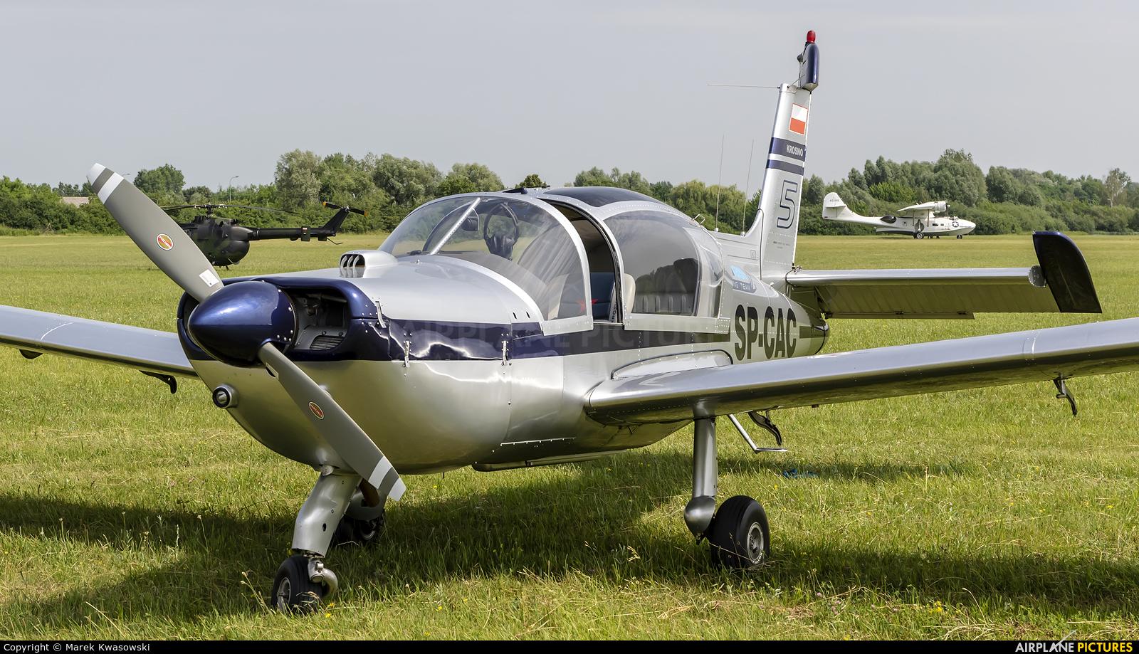 Private SP-CAC aircraft at Płock