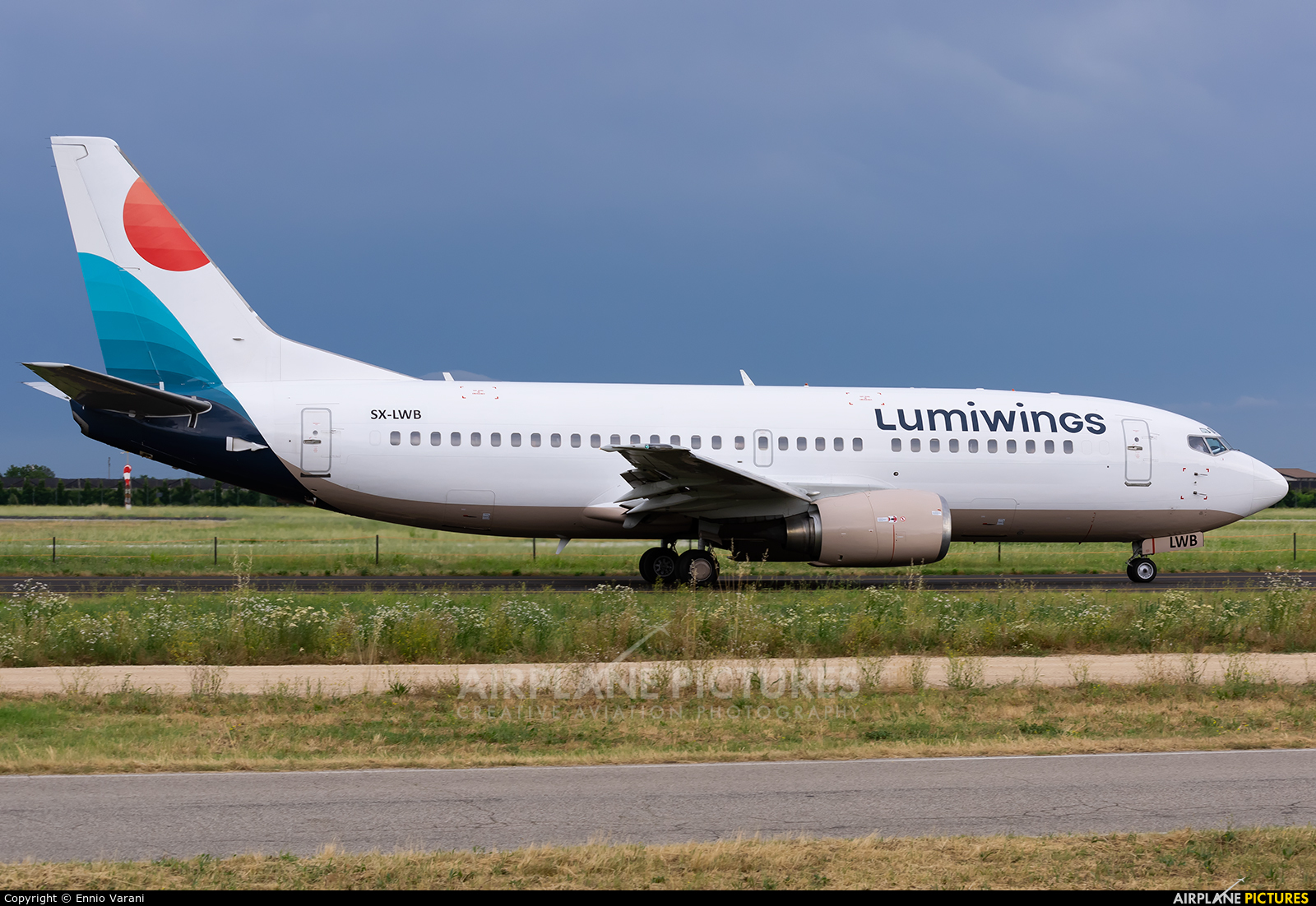 Lumiwings SX-LWB aircraft at Verona - Villafranca