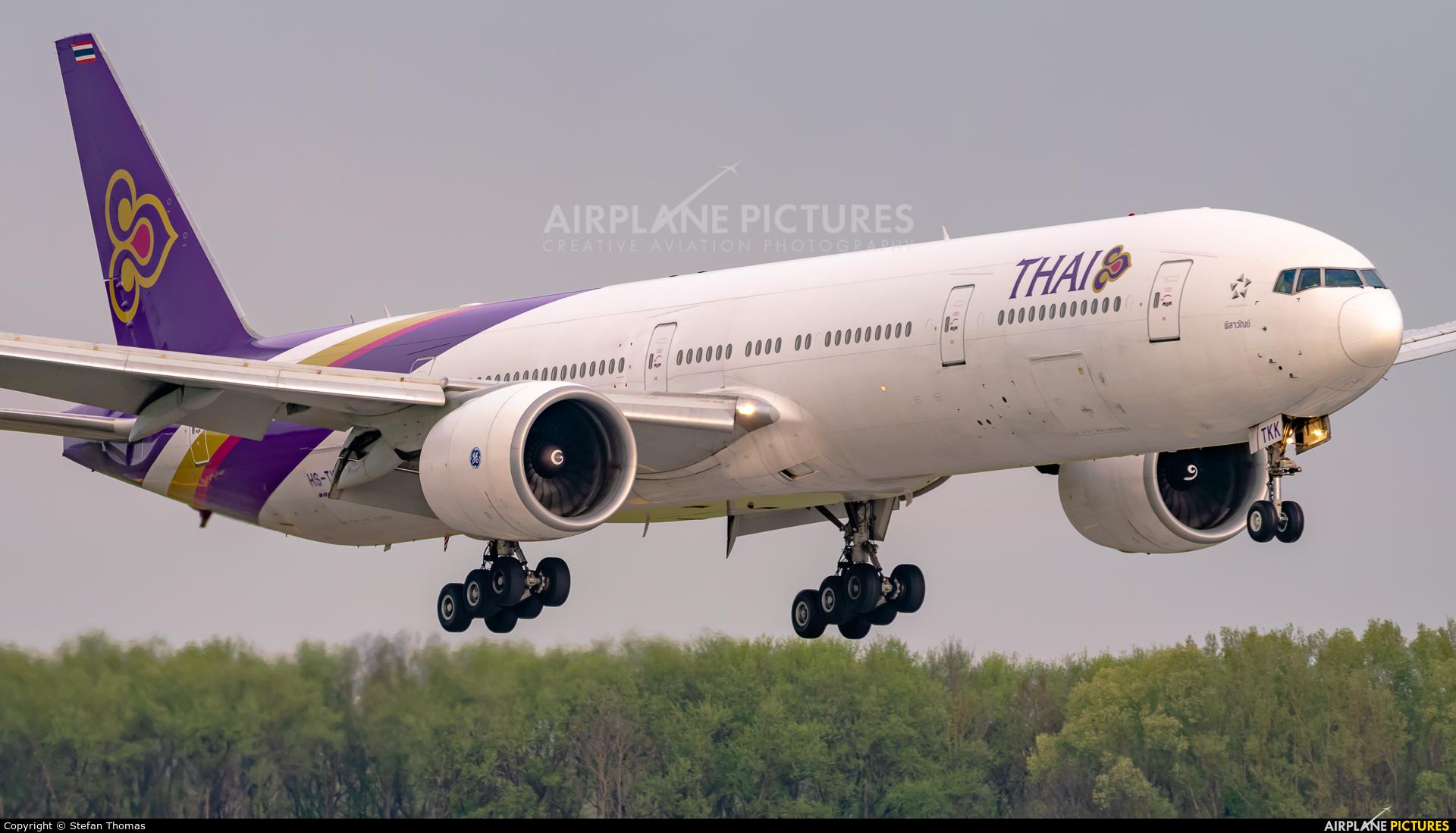 Thai Airways HS-TKK aircraft at Munich