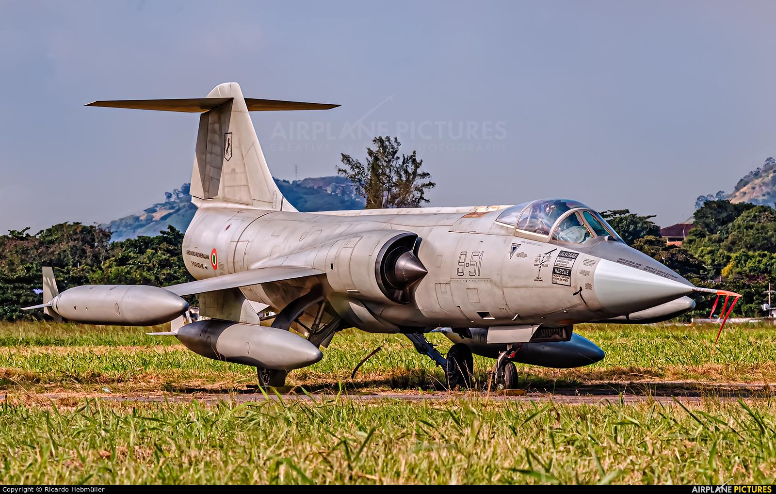 Italy - Air Force MM6717 aircraft at Campo Délio Jardim de Matos - Afonsos AFB
