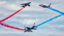 "FTELP - France - Air Force ""Patrouille de France"" Dassault - Dornier Alpha Jet E aircraft"