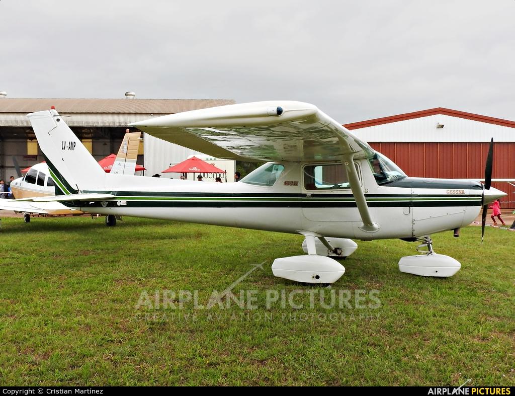 Private LV-AMP aircraft at Posadas International