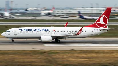 TC-JGC - Turkish Airlines Boeing 737-800