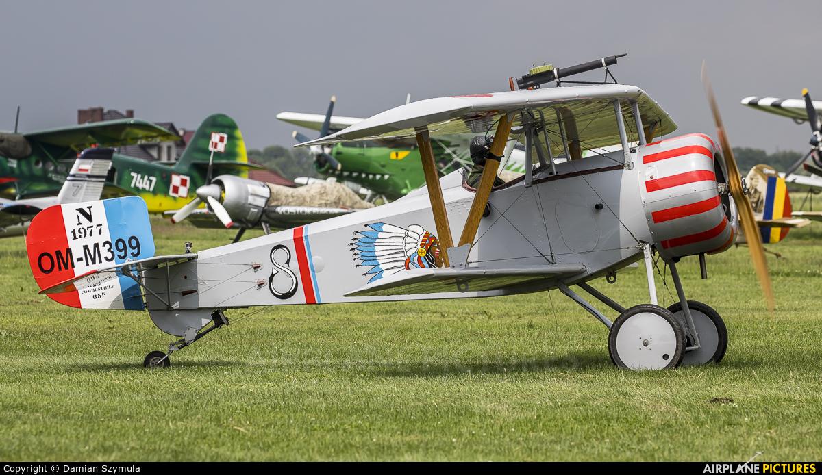 Private OM-M399 aircraft at Kraków - Pobiednik Wielki