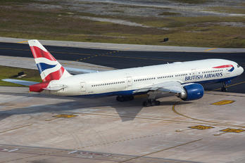 G-VIIU - British Airways Boeing 777-200