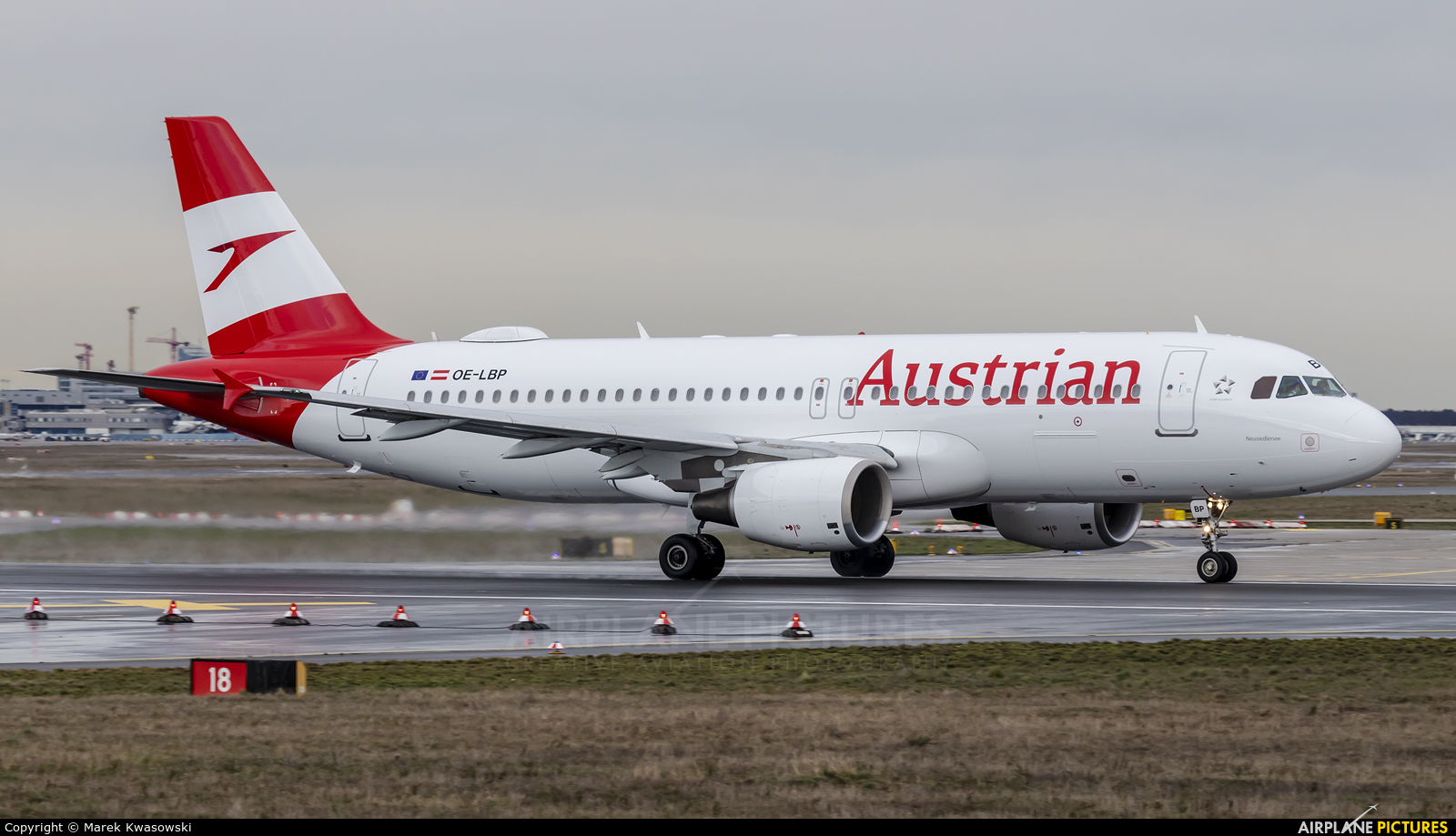 Austrian Airlines/Arrows/Tyrolean OE-LBP aircraft at Frankfurt
