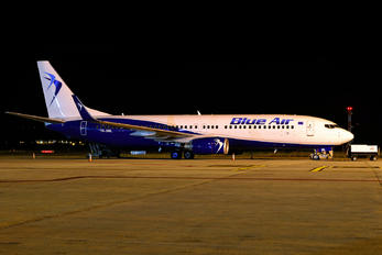 YR-BML - Blue Air Boeing 737-800