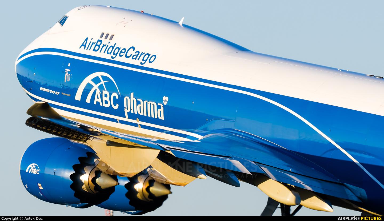 Air Bridge Cargo VQ-BFU aircraft at Amsterdam - Schiphol