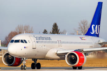 LN-RGO - SAS - Scandinavian Airlines Airbus A320 NEO