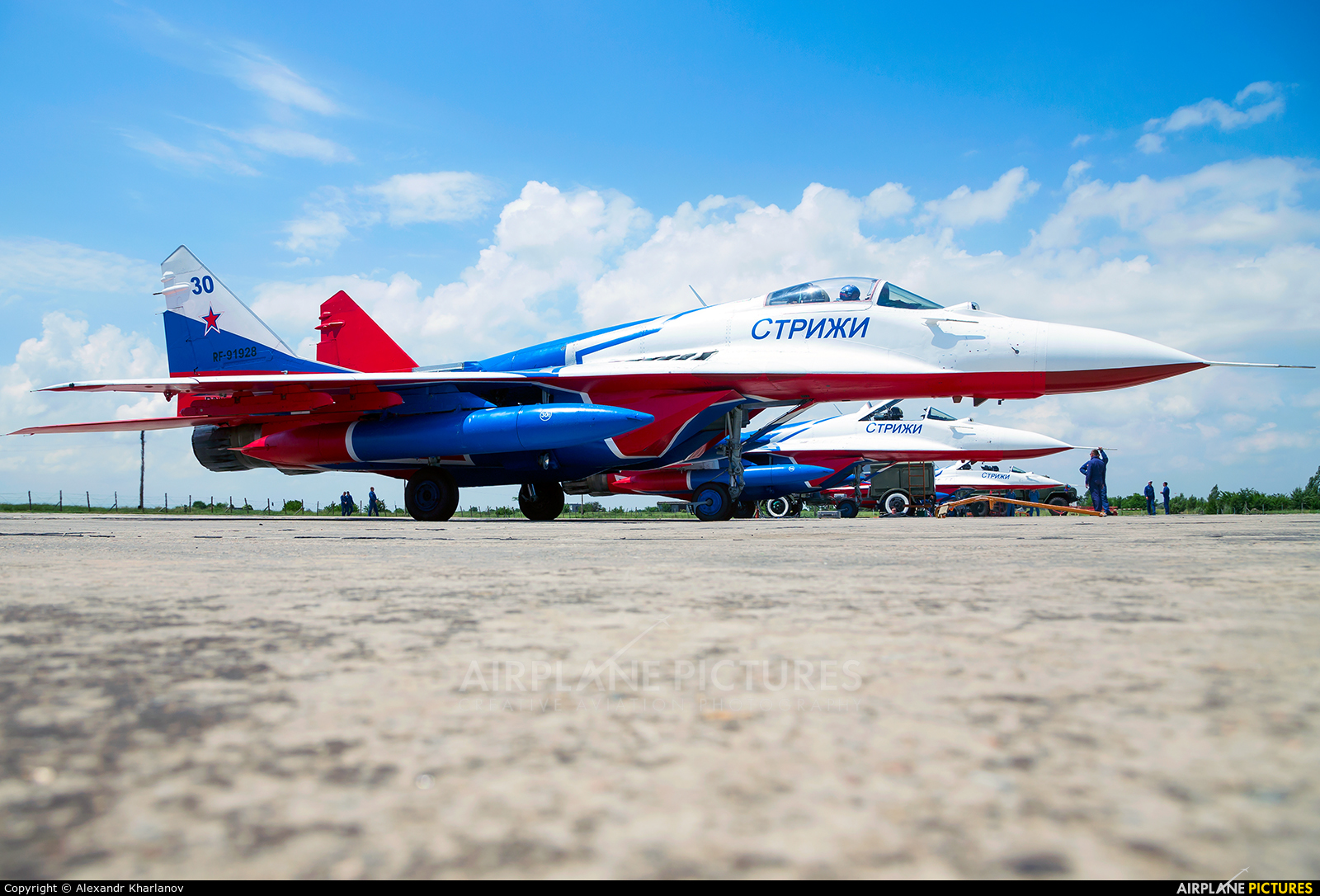 """Russia - Air Force """"Strizhi"""" 30 aircraft at Undisclosed Location"""