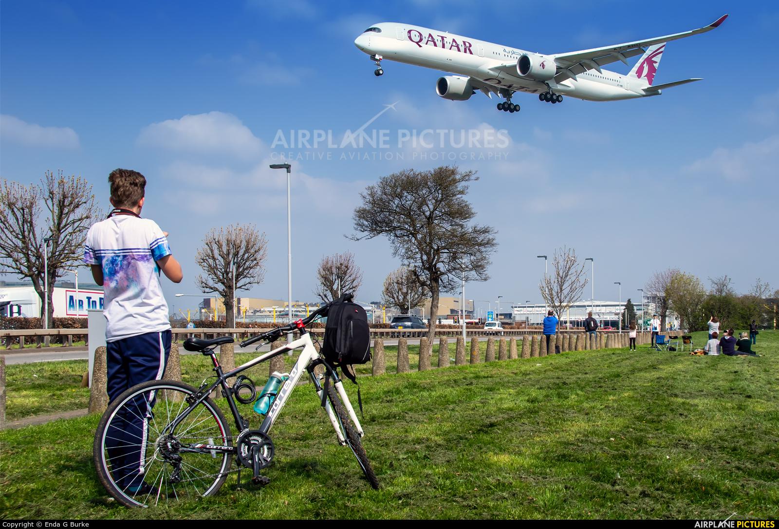 Qatar Airways A7-AND aircraft at London - Heathrow
