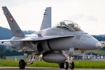 J-5232 - Switzerland - Air Force McDonnell Douglas F/A-18D Hornet