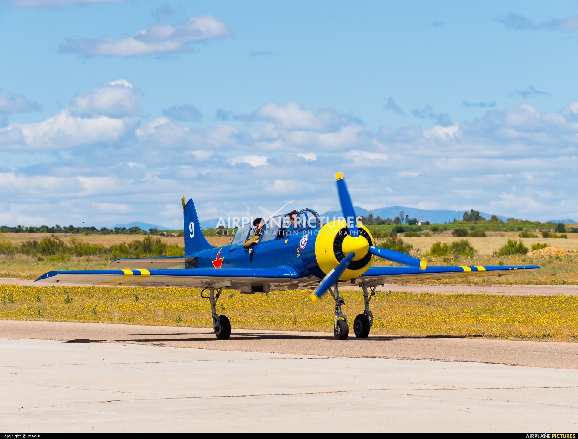 """Asociación Deportiva """"Jacob 52"""" EC-HYN aircraft at Casarrubios del Monte"""