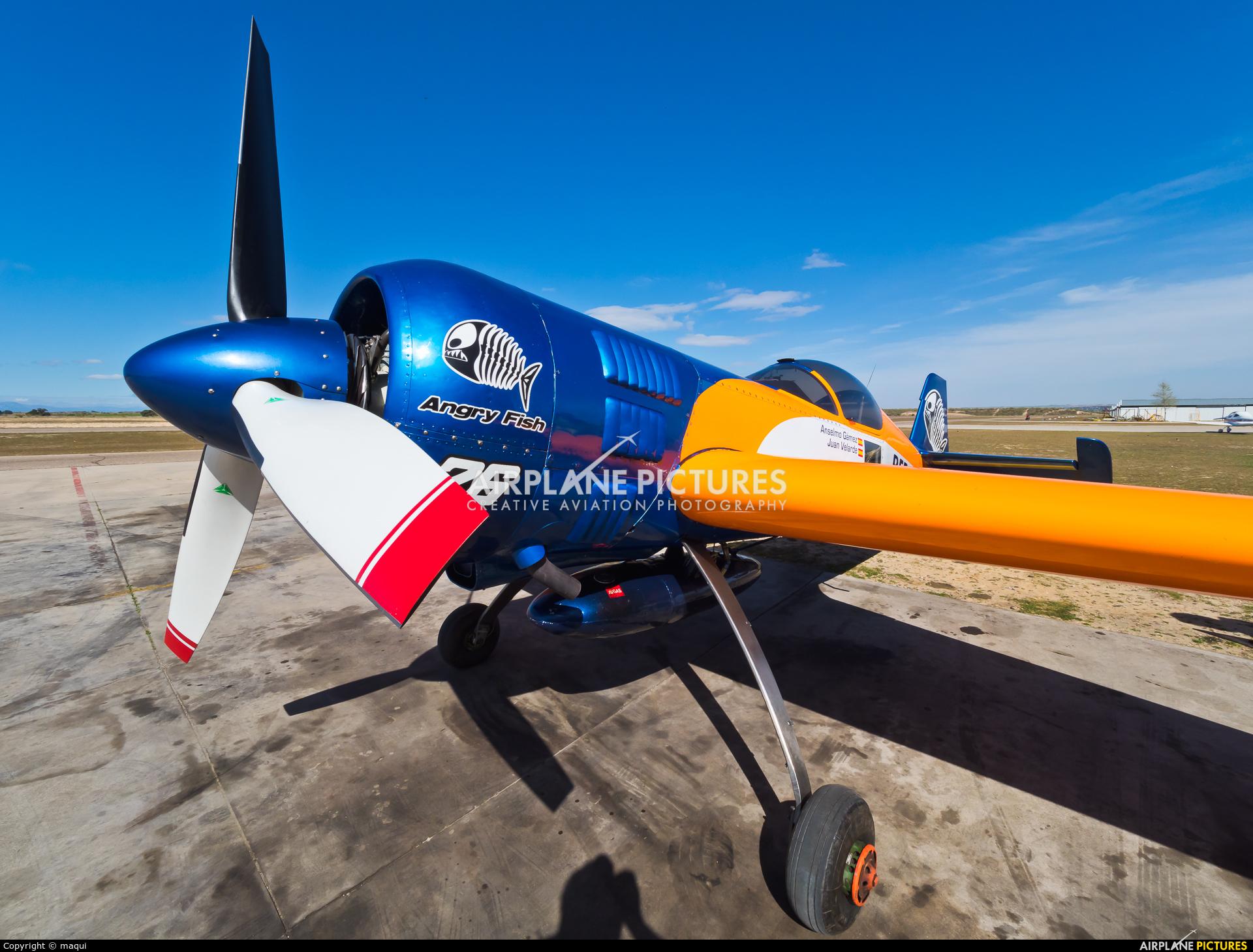 Bravo3/Repsol Team EC-HYU aircraft at Casarrubios del Monte