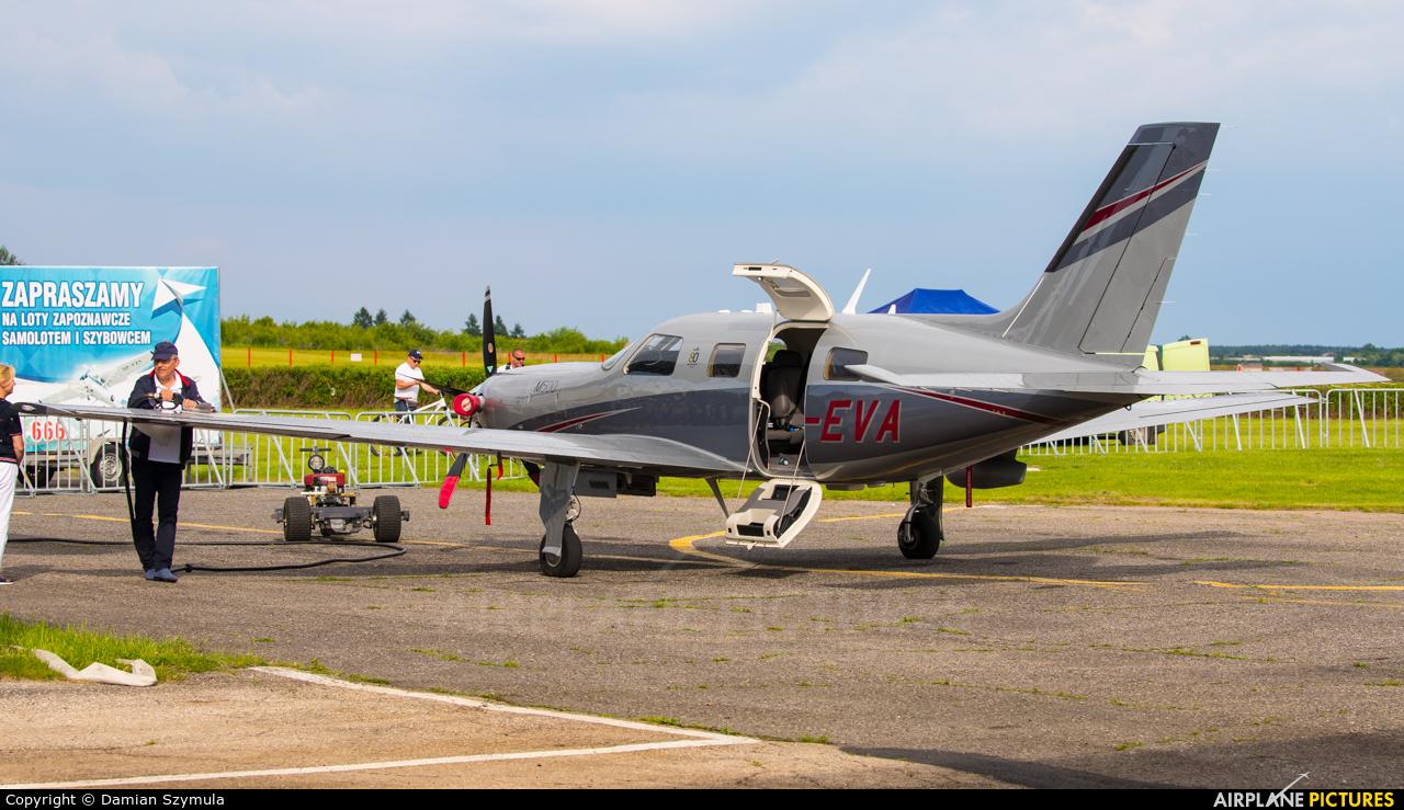 Private SP-EVA aircraft at Czestochowa - Rudniki