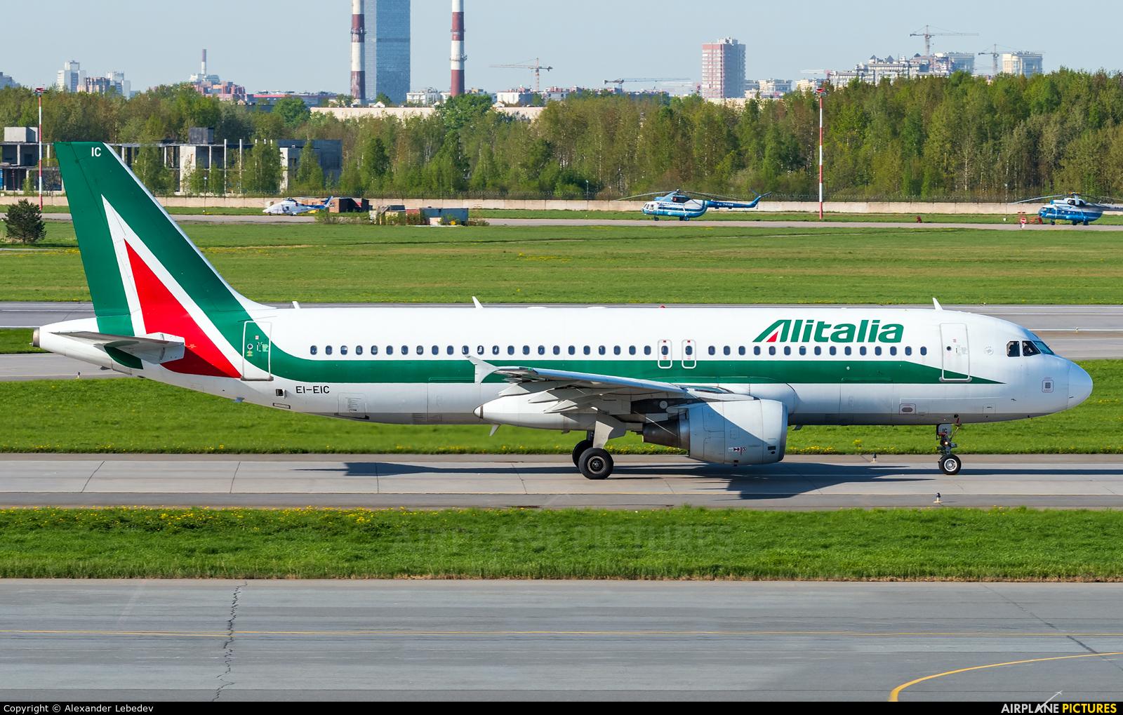 Alitalia EI-EIC aircraft at St. Petersburg - Pulkovo