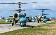 16 - Russia - Air Force Kamov Ka-52 Alligator aircraft