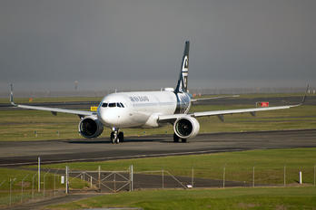 ZK-NND - Air New Zealand Airbus A321 NEO