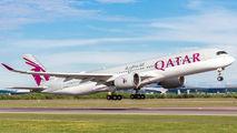 A7-ALM - Qatar Airways Airbus A350-900 aircraft