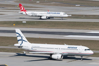 SX-DVS - Aegean Airlines Airbus A320