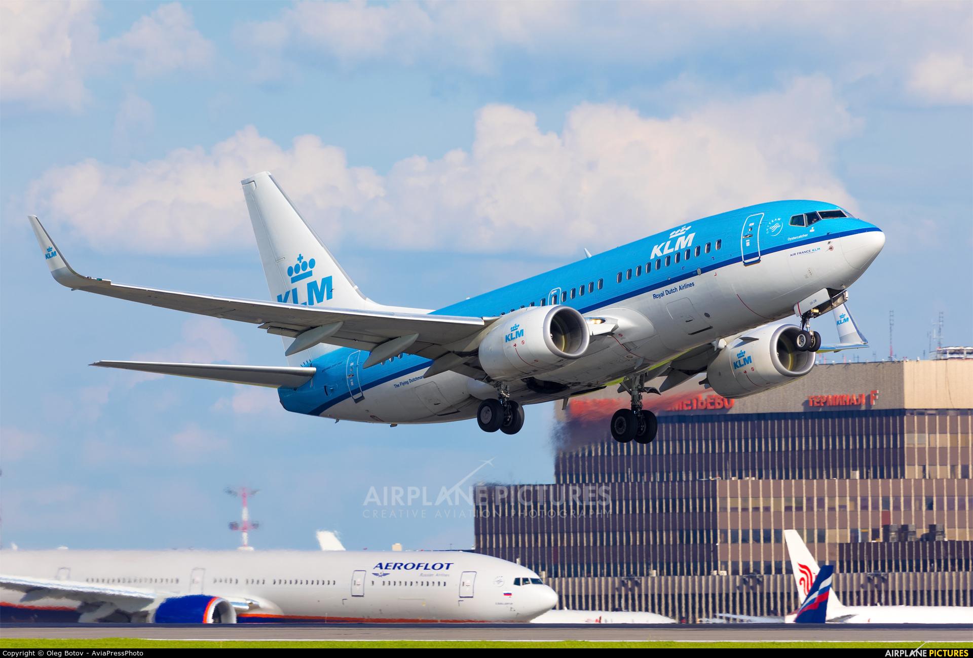 KLM PH-BGX aircraft at Moscow - Sheremetyevo