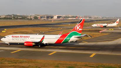 5Y-KYE - Kenya Airways Boeing 737-800