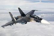 54 BLACK - Russia - Air Force Sukhoi Su-30SM aircraft