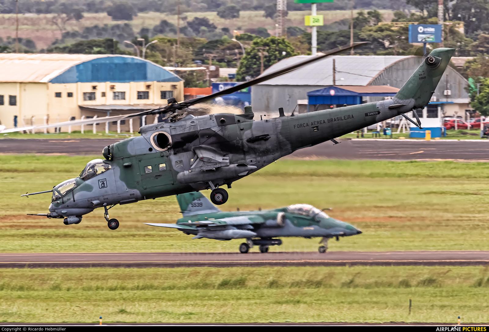 Brazil - Air Force 8960 aircraft at Campo Grande