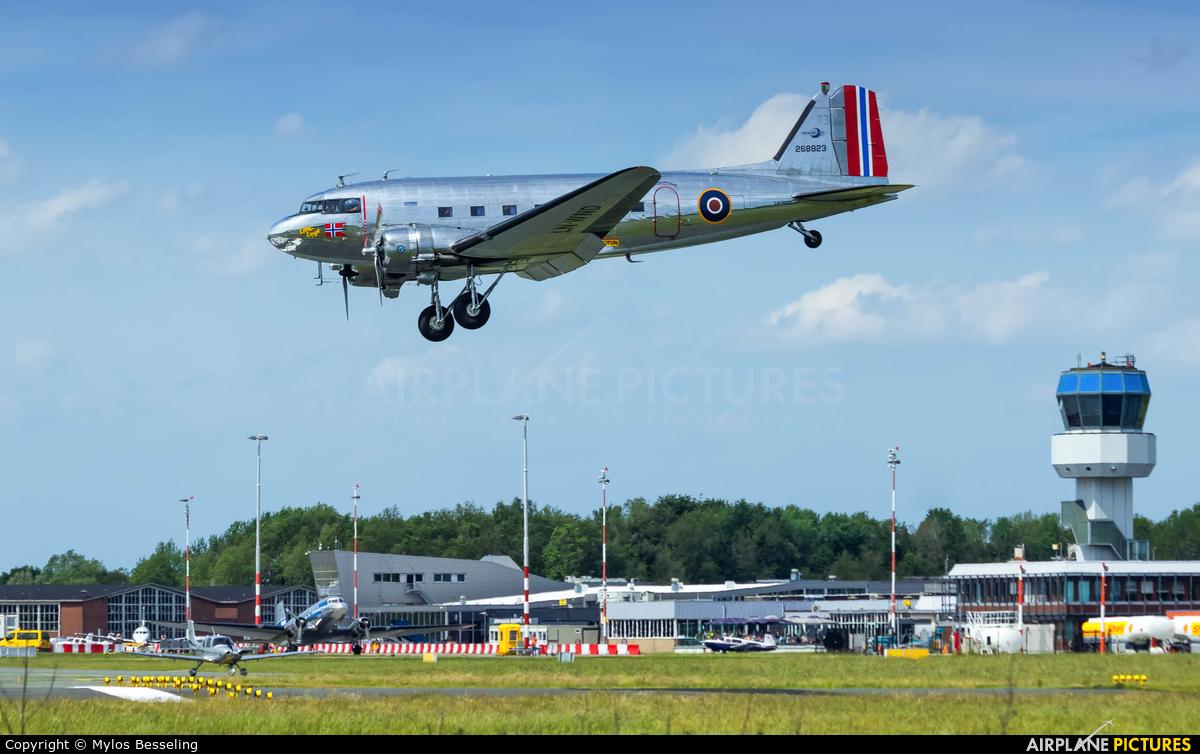 Dakota Norway LN-WND aircraft at Groningen - Eelde