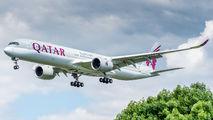 A7-ANZ - Qatar Airways Airbus A350-1000 aircraft