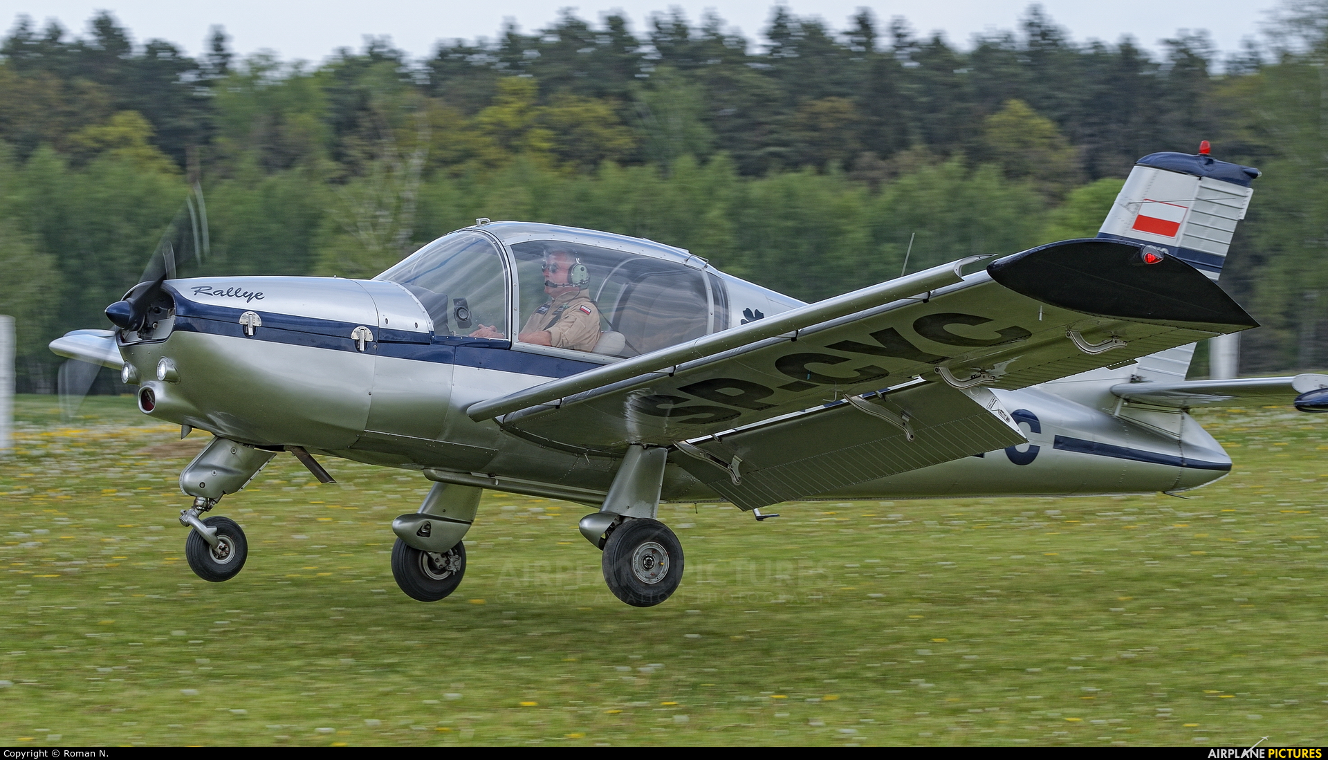 Private SP-CYC aircraft at Off Airport - Poland