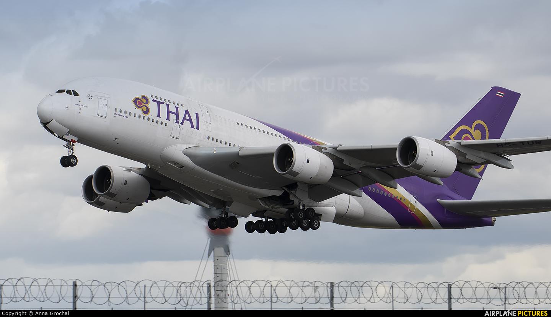 Thai Airways HS-TUB aircraft at London - Heathrow