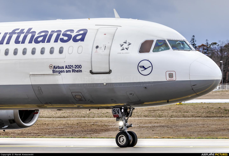 Lufthansa D-AISV aircraft at Frankfurt
