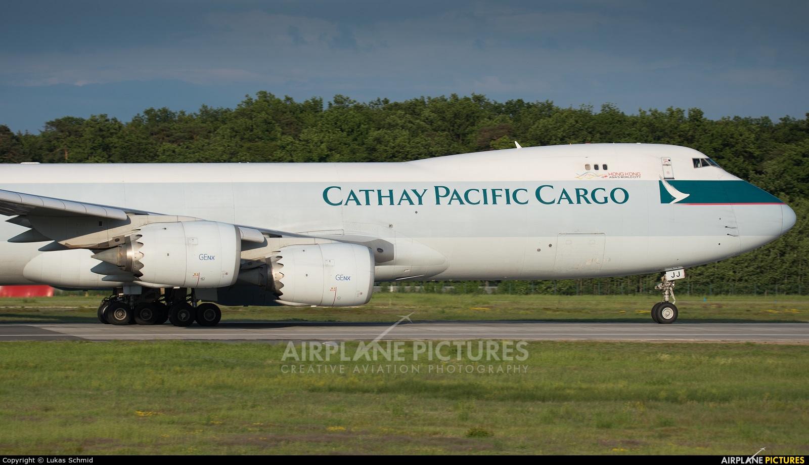 Cathay Pacific Cargo B-LJJ aircraft at Frankfurt