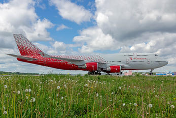 EI-XLG - Rossiya Boeing 747-400