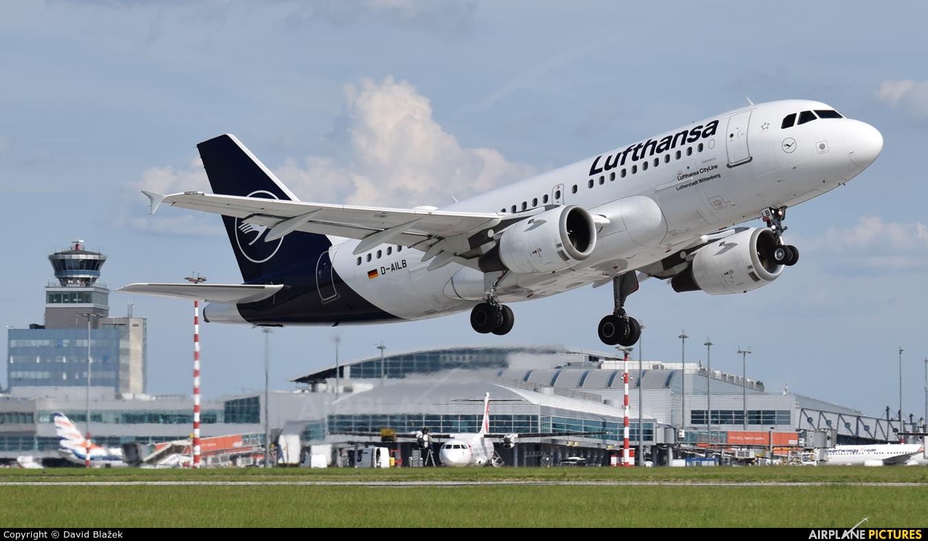 Lufthansa D-AILB aircraft at Prague - Václav Havel
