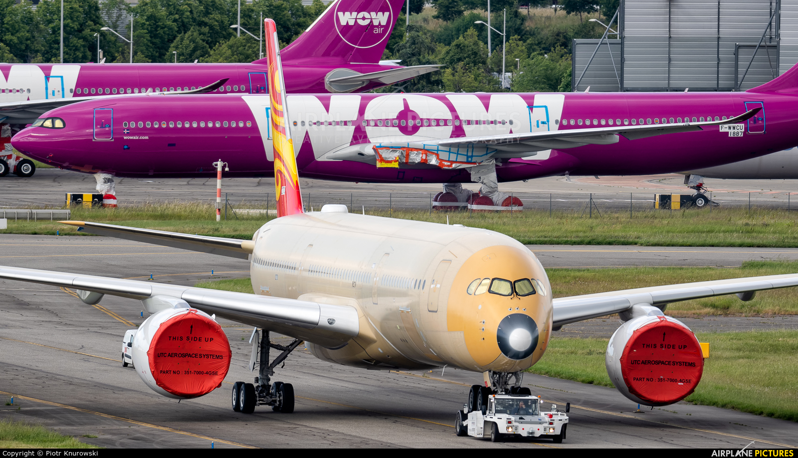 Hainan Airlines F-WZFT aircraft at Toulouse - Blagnac