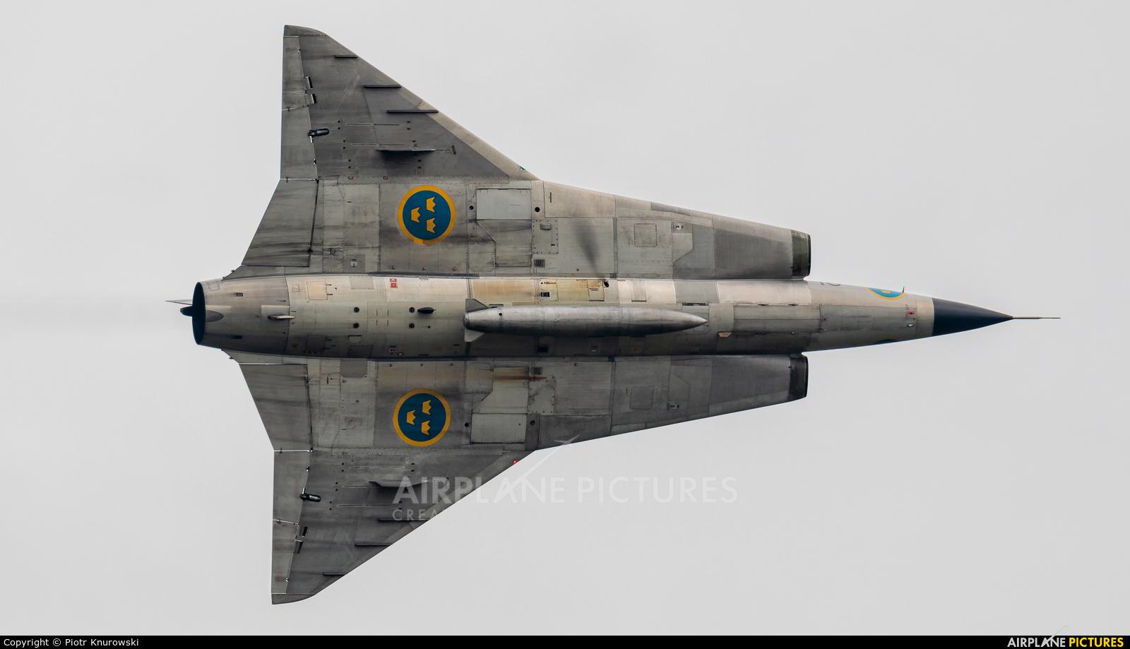 Swedish Air Force Historic Flight SE-DXP aircraft at Uden - Volkel