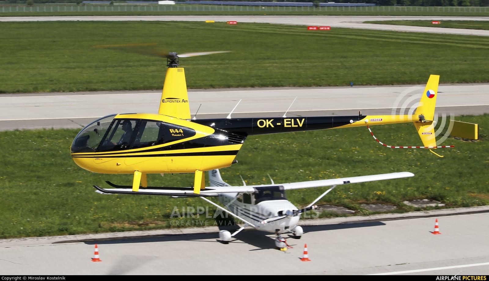 Elmontex Air OK-ELV aircraft at Ostrava Mošnov