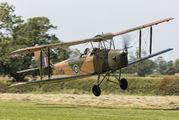 G-BLUZ - Private de Havilland DH. 82 Queen Bee aircraft